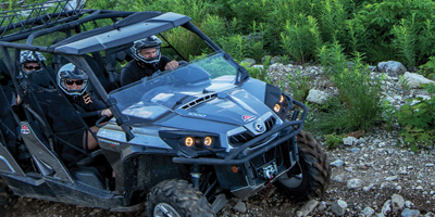 ATV in Revelstoke